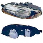 Фара левая (под корректор) FIAT  BRAVO 1995-2001 год / I
