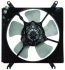 Диффузор радиатора охлаждения в сборе (мотор+рамка+вентилятор) SUZUKI BALENO  1995-1998 год / G, 1S