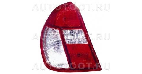 Фонарь задний левый (красно-белый) Renault Clio 1998-2001 год / II
