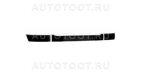 Молдинг переднего бампера левый+правый+крепление номера на передний бампер Renault Clio 2001-2005 год / II