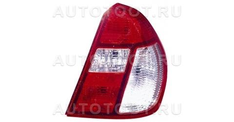 Фонарь задний правый (красно-белый) Renault Clio 2001-2005 год / II