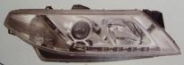 Фара левая+правая (комплект, линзы, внутри хром, тюнинг)