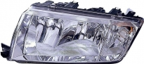 Фара левая (под корректор) SKODA FABIA 1999-2005 год / 6Y