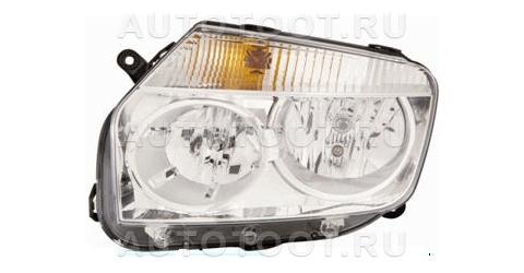 Фара левая (под корректор) Renault Duster 2010-2014 год / I