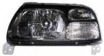 Фара левая (тюнинг, прозрачная, под корректор, внутри черная) SUZUKI GRAND VITARA 1996-2004 год / T, 2W