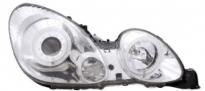 Фара левая+правая (комплект, тюнинг, линзованная, со светящимися ободками, внутри хром) LEXUS GS300 1998-2005 год / JZX16