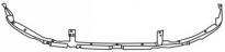 Усилитель переднего бампера верхний MITSUBISHI GALANT 1997-2003 год / EA, EC