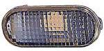 Повторитель поворота в крыло левый=правый (тонированный, овальный) VOLKSWAGEN POLO CLASSIC 1995-2002 год / III