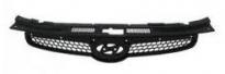 Решетка радиатора (черная) HYUNDAI I30 2007-2011 год / I