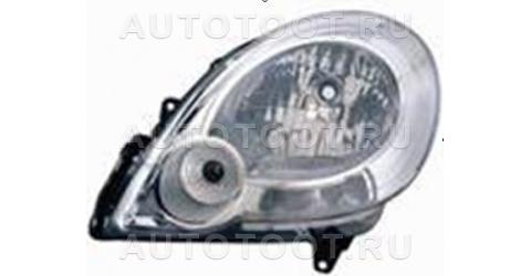 Фара левая (под корректор) Renault Kangoo  2008-2013 год / Il