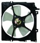 Диффузор радиатора охлаждения в сборе (мотор+рамка+вентилятор) SUBARU  LEGACY 1993-1999 год / BD, BG, BK