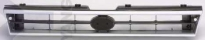 Решетка радиатора (серебристо-серая) SUBARU  LEGACY 1989-1992 год / BC, BJ, BF