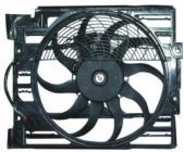 Диффузор радиатора кондиционера в сборе (мотор+рамка+вентилятор) BMW 7SERIES 1995-1998 год / Е38
