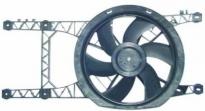 Мотор+вентилятор радиатора охлаждения АТ (с корпусом, без кондиционера)