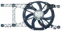 Мотор+вентилятор радиатора охлаждения MT (с корпусом, без кондиционера)