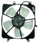 Диффузор радиатора охлаждения в сборе (мотор+рамка+вентилятор, AT) TOYOTA CARINA E 1992-1997 год / Т190