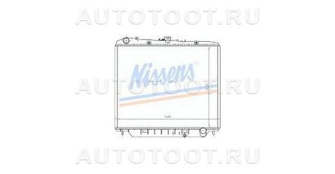 Радиатор охлаждения MT 3.2L 3.1L (бензин, турбодизель)  Opel Monterey  1992-1997 год / UBS