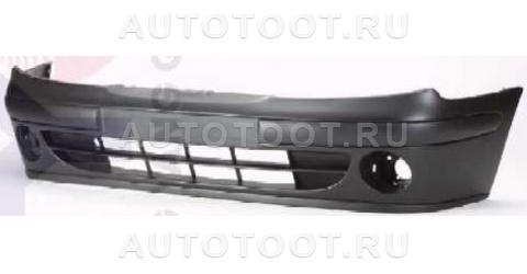 Бампер передний (с отверстиями под противотуманки) Renault Megane 1999-2002 год / I