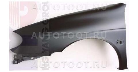 Крыло переднее левое (с отверстием под повторитель) Renault Megane 1999-2002 год / I