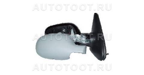 Зеркало правое (механическое, с тросиком, с датчиком температуры) Renault Megane 1999-2002 год / I
