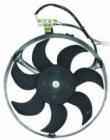 Мотор+вентилятор радиатора кондиционера (с корпусом)