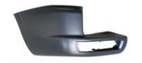 Боковина заднего бампера левая (с отверстием под фонарь) MITSUBISHI PAJERO  1999-2003 год / V6, V7
