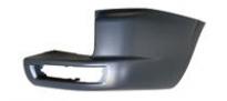 Боковина заднего бампера правая (с отверстием под фонарь) MITSUBISHI PAJERO  1999-2003 год / V6, V7