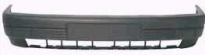 Бампер передний (без отверстий под противотуманки, с усилителем, со спойлером)  VOLKSWAGEN PASSAT 1988-1993 год / B3