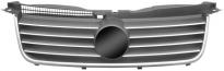 Решетка радиатора (с хромированным молдингом) VOLKSWAGEN PASSAT 2000-2005 год / B5