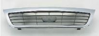 Решетка радиатора (черная с хромом) DAEWOO NEXIA 1996-2008 Год / I