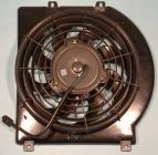 Диффузор радиатора охлаждения в сборе (мотор+вентилятор) ISUZU AMIGO 1998-1999 год / S