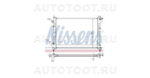Радиатор охлаждения Renault Laguna 1994-1997 год / I