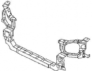 Рамка радиатора (нижняя часть) HYUNDAI SONATA 2001-2004 год / IV