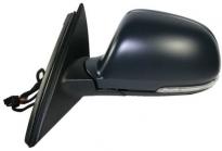Зеркало левое (электрическое, с подогревом, с указателем поворота, автоскладыванием, подсветкой, памятью) SKODA SUPERB 2008-2013 год / III