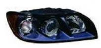 Фара правая (с электрокорректором, внутри черная) VOLVO  S40 2004-2008 год / II
