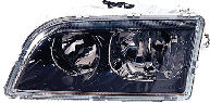 Фара левая (под корректор, внутри черная) VOLVO V40 1999-2002 год / I