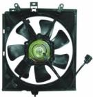 Диффузор радиатора охлаждения в сборе (мотор+рамка+вентилятор) VOLVO  V40 1996-1999 год / I