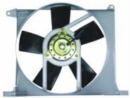 Мотор+вентилятор радиатора охлаждения (с корпусом)