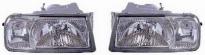 Фара левая+правая (Комплект,тюнинг,полностью прозрачная) SUZUKI VITARA 1989-1996 год / T, 1W