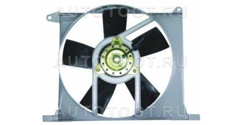Мотор+вентилятор радиатора охлаждения (с корпусом) Opel  Vectra 1988-1992 год / A