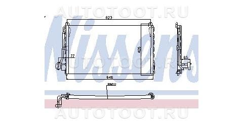 Радиатор кондиционера Opel  Vectra 1988-1992 год / A