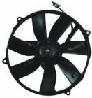 Диффузор радиатора в сборе (рамка+мотор+вентилятор) MERCEDES S-CLASS 1992-1994 год / W140