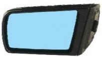Зеркало левое (электрическое, с подогревом, с крышкой) MERCEDES S-CLASS 1992-1994 год / W140