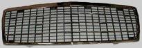 Решетка радиатора (с рамкой, 3 полосы, черная-хром) MERCEDES S-CLASS 1995-1998 год / W140