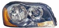 Фара правая (под корректор, внутри черная) VOLVO XC90 2002-2006 год / I