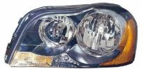 Фара левая (под корректор, внутри черная) VOLVO XC90 2002-2006 год / I