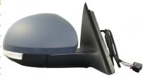Зеркало правое (электрическое, с подогревом, с указателем поворота, с подсветкой) SKODA YETI 2009-2011 год / I