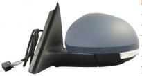 Зеркало левое (электрическое, с подогревом, с указателем поворота, с подсветкой) SKODA YETI 2009-2011 год / I