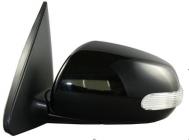 Зеркало левое (электрическое, с автоскладыванием, с подогревом, с указателем поворота) KIA FORTE 2009-2013 год / TD