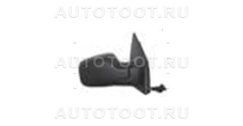 Зеркало правое (механическое, с тросиком, с датчиком температуры) Renault Clio 2005-2009 год / III